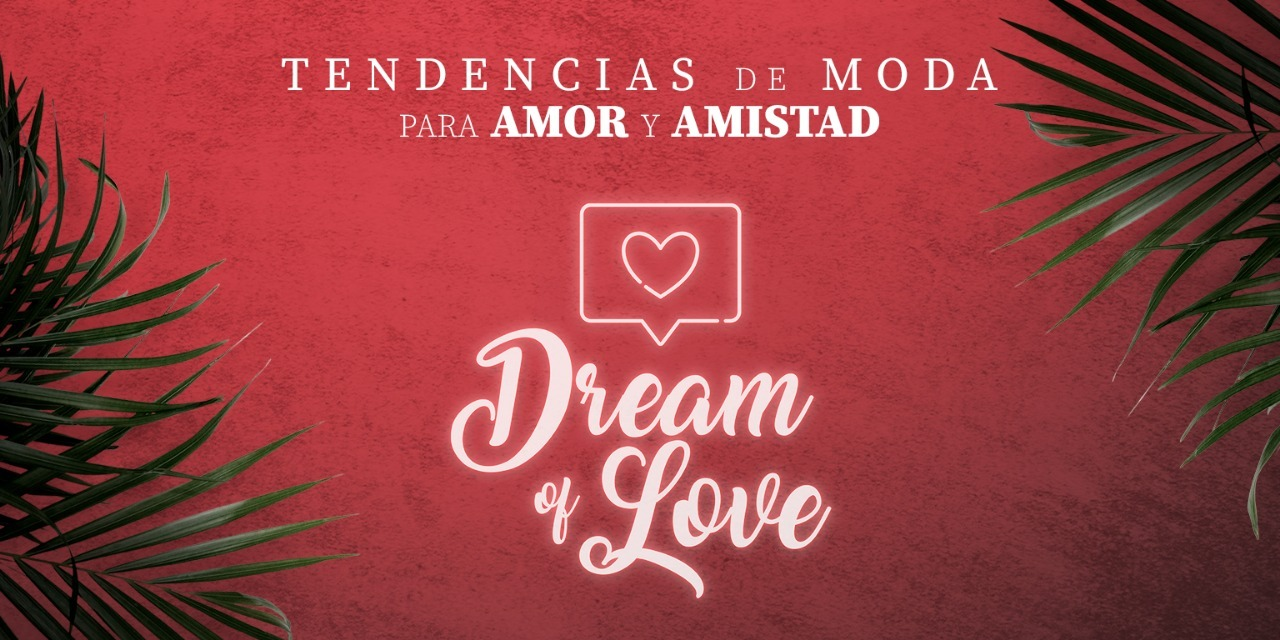 "TENDENCIAS DE MODA PARA AMOR Y AMISTAD ""DREAM OF LOVE"""